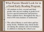 what parents should look for in a good early reading program10
