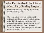 what parents should look for in a good early reading program11