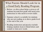 what parents should look for in a good early reading program8