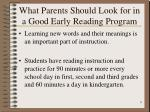what parents should look for in a good early reading program9