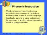 phonemic instruction