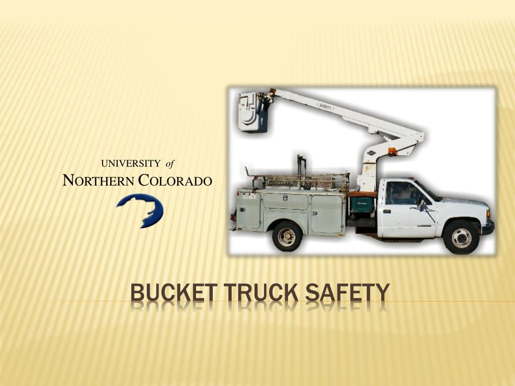 bucket truck safety l.