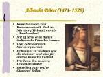 albrecht d rer 1471 1528