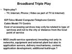 broadband triple play