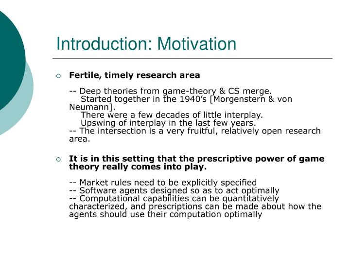 Introduction motivation3