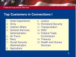 top customers in connections i