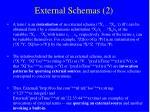 external schemas 2