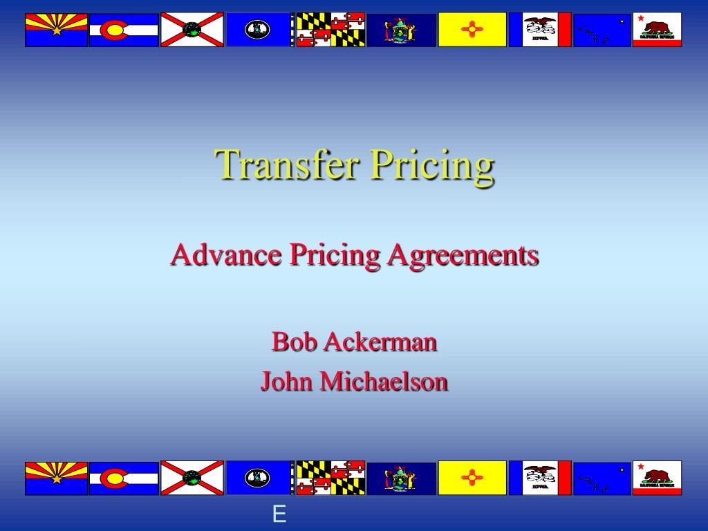 transfer pricing l.