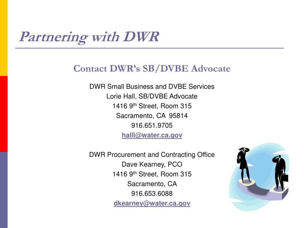 Partnering with DWR