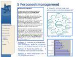 5 personeelsmanagement