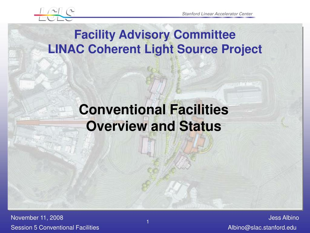 facility advisory committee linac coherent light source project l.