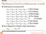 mcdamat s fast food restaurant contd31