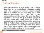 petcare problem
