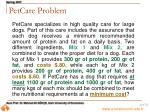 petcare problem21