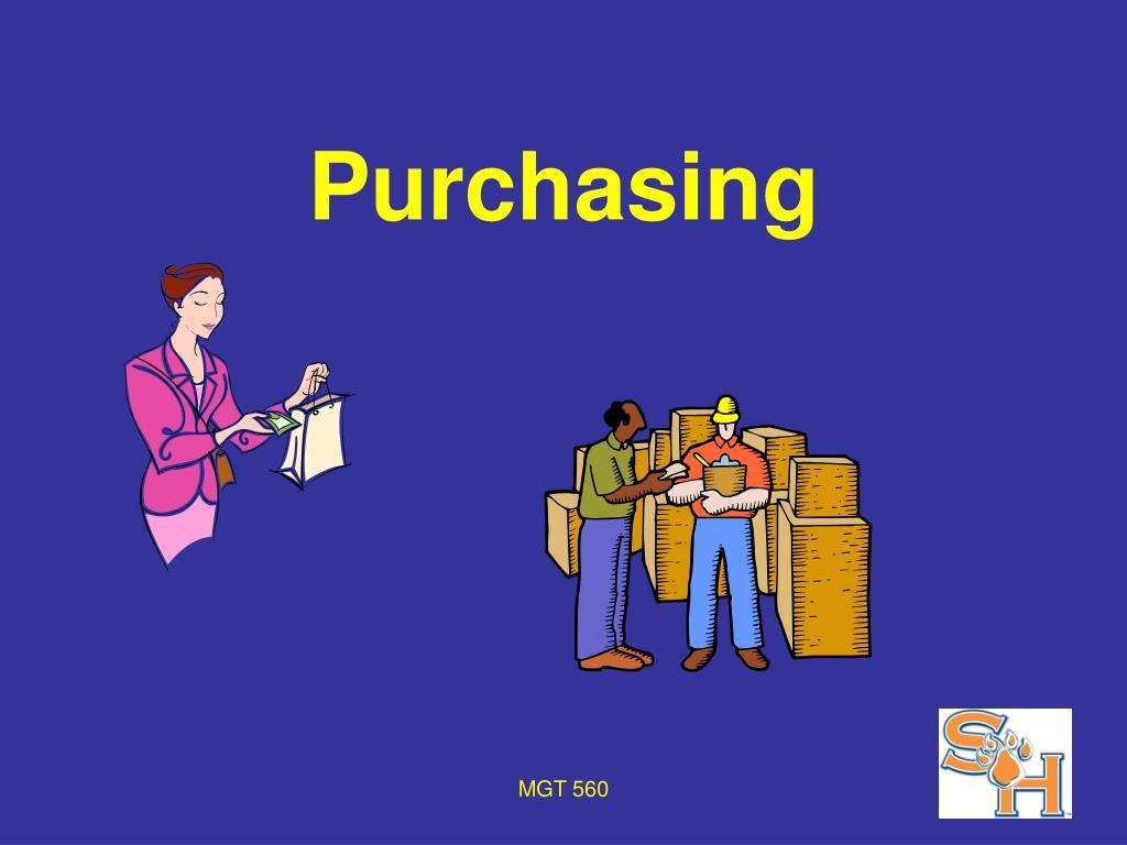 purchasing l.