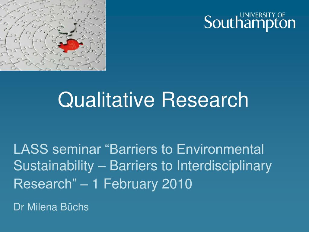 qualitative research l.