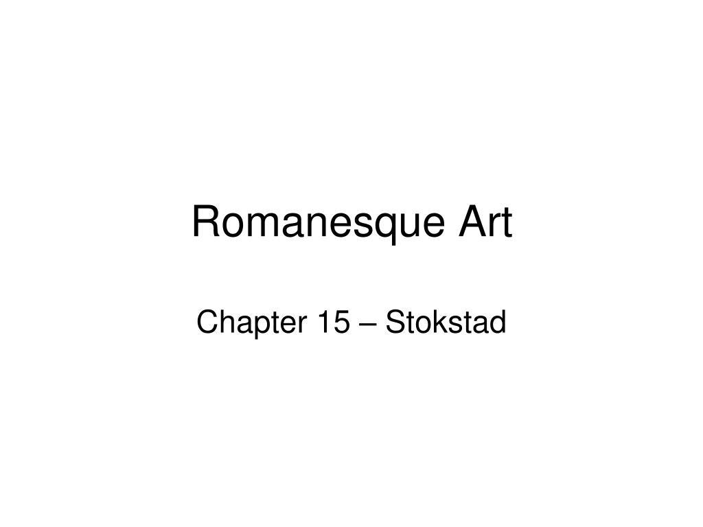 romanesque art l.