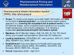 pharmaceutical health information system phis http phis goeg at