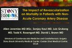 the impact of revascularization on mortality in patients with non acute coronary artery disease