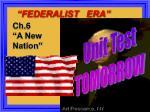 federalist era3