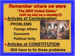 remember where we were the new united states will we last as a country