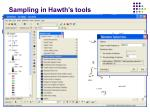 sampling in hawth s tools