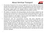 about amritsar transport