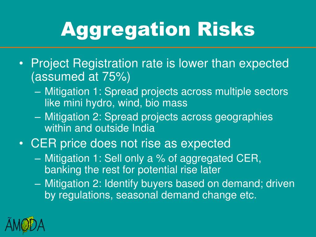 Aggregation Risks