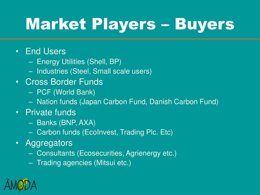 Market Players – Buyers