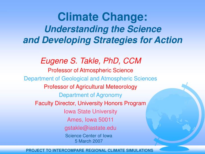 climate change essay thesis
