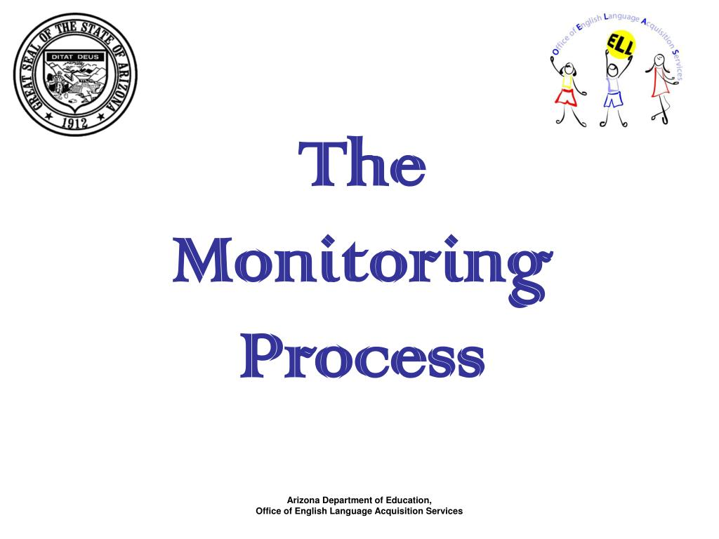 the monitoring process l.