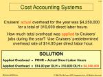 cost accounting systems27