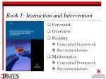 book 1 instruction and intervention