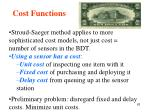 cost functions63