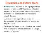 discussion and future work123