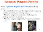 sequential diagnosis problem
