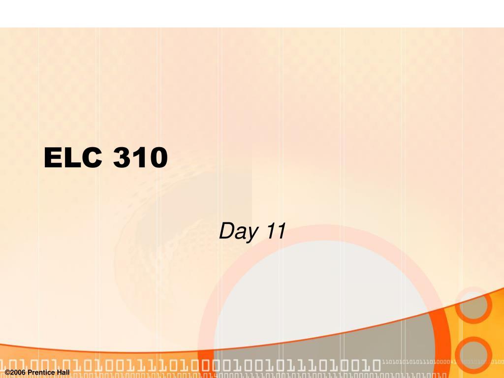elc 310 l.