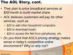 the aol story cont