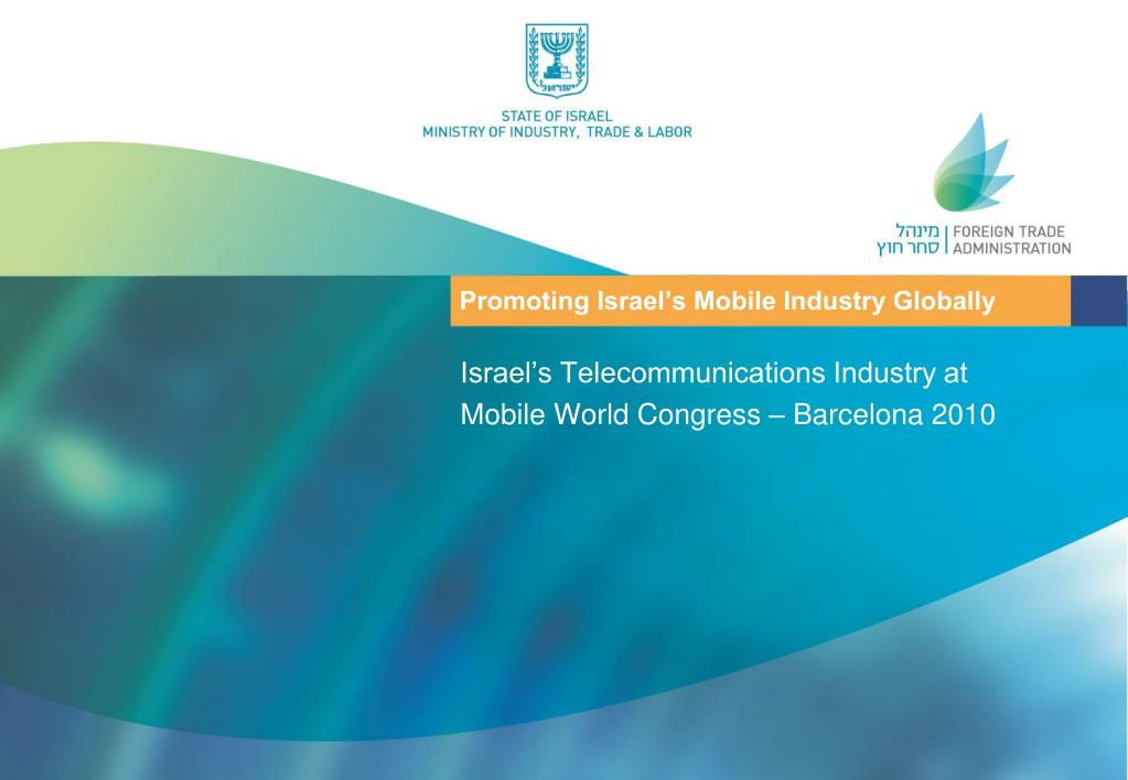 promoting israel s mobile industry globally l.