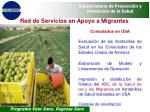 red de servicios en apoyo a migrantes34