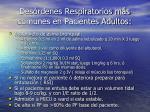 des rdenes respiratorios m s comunes en pacientes adultos26