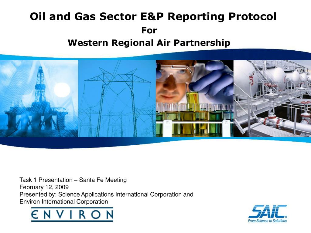 oil and gas sector e p reporting protocol l.