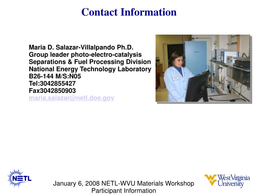 contact information l.