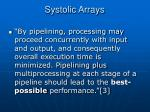 systolic arrays11
