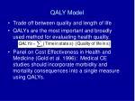 qaly model