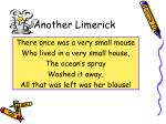 another limerick
