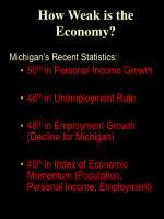 how weak is the economy