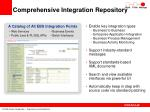 comprehensive integration repository