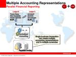 multiple accounting representations parallel financial reporting
