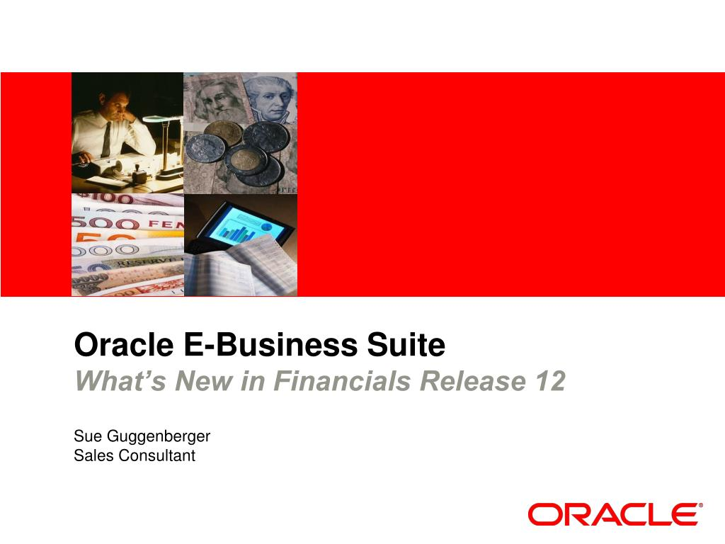 oracle e business suite what s new in financials release 12 l.